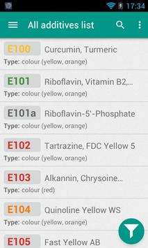 Food Additives screenshot 1