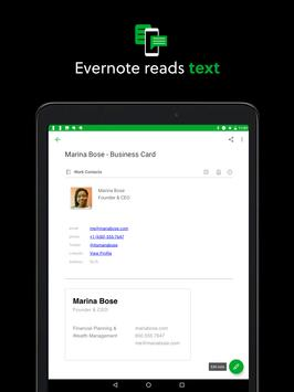 Evernote capture d'écran 12