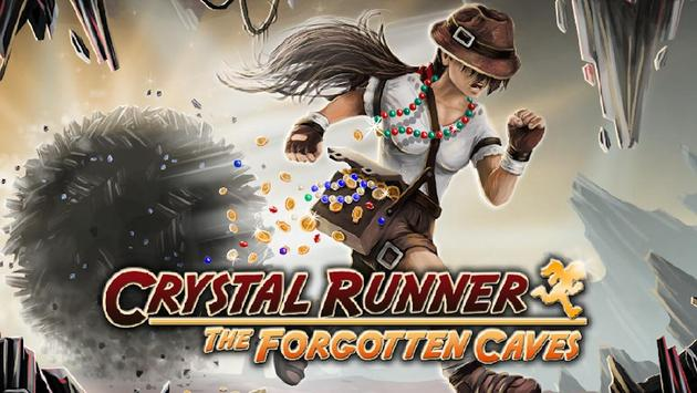 Crystal Runner - The Forgotten Caves poster