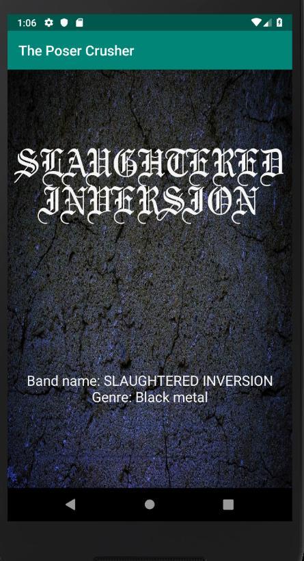 Name black generator metal Last Name