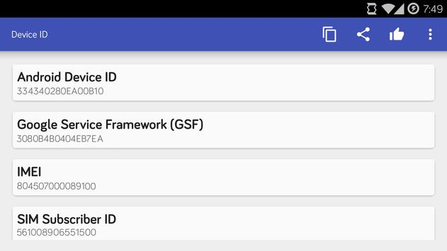 Device ID syot layar 4