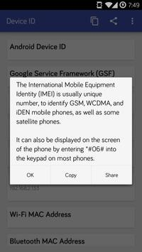 Device ID screenshot 5
