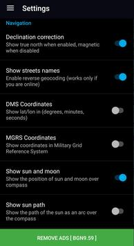 GPS Compass Navigator скриншот 6