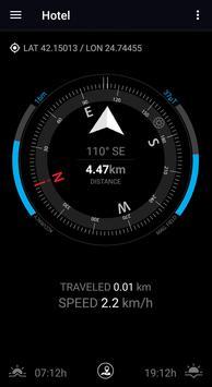 GPS Compass Navigator постер