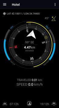 GPS Compass Navigator скриншот 10