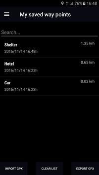 GPS Compass Navigator скриншот 3