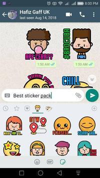 Basta Tribute WAStickerApps screenshot 2