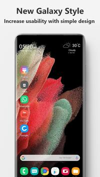 Launcher  Galaxy S21 Style poster