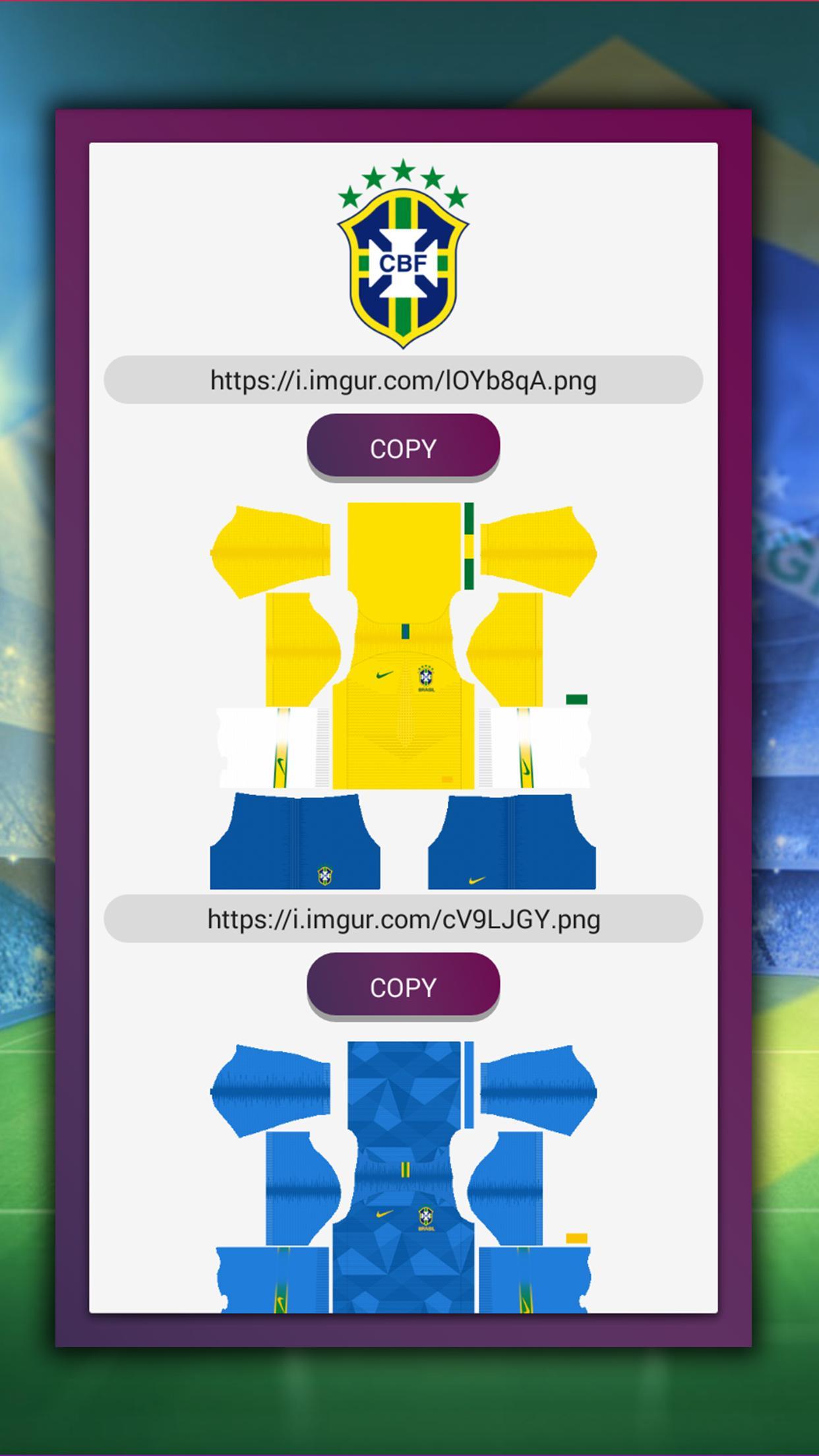 Dream League Brasileiro Kits Soccer For Android Apk Download