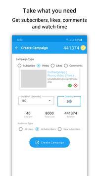 ExchangeApp capture d'écran 3