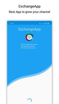 ExchangeApp Affiche