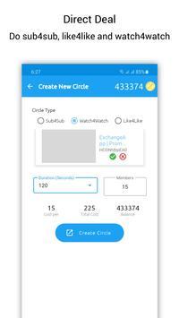 ExchangeApp capture d'écran 5