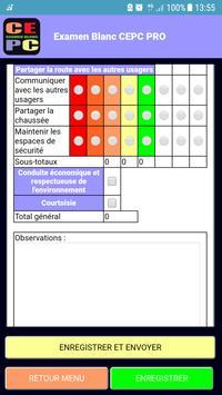 Examen blanc CEPC PRO screenshot 2