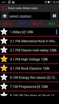 Rock radio Metal radio poster