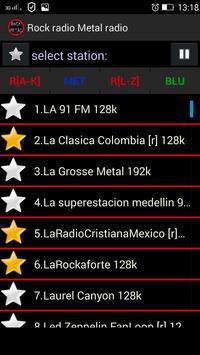 Rock radio Metal radio screenshot 2
