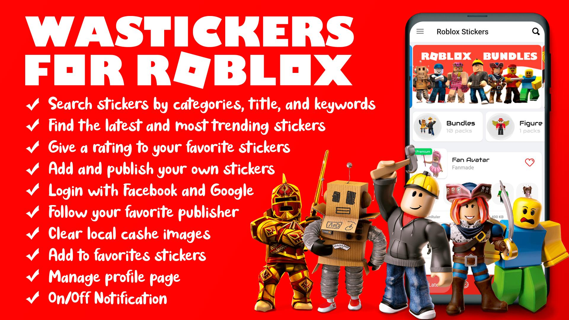 Roblox Poster Wastickers For Roblox For Android Apk Download