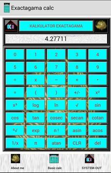 Kalkulator exa poster