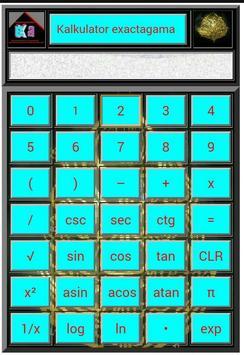 Kalkulator exa screenshot 1