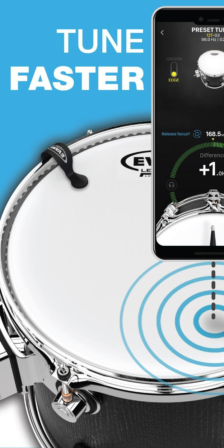 Drum Tuner | Drumtune PRO > Drum tuning made easy! for Android - APK
