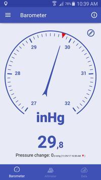Barómetro y Altímetro y Termómetro captura de pantalla 13