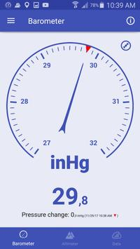 気圧計と高度計と温度計 スクリーンショット 1