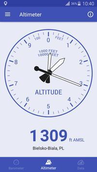 気圧計と高度計と温度計 スクリーンショット 2