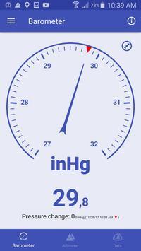 気圧計と高度計と温度計 スクリーンショット 13