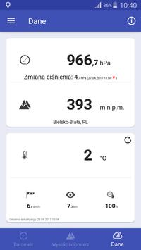 Barometr screenshot 3