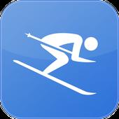 Ski Tracker-icoon