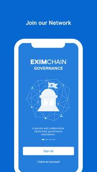 Eximchain Governance (Unreleased) poster