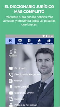 LegalApp - Spanish Legal Dictionary poster