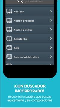 LegalApp - Spanish Legal Dictionary screenshot 5
