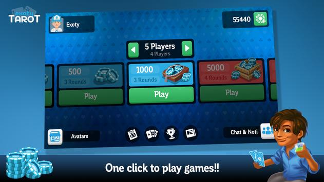 Multiplayer Tarot Game screenshot 1
