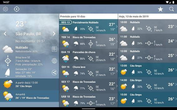 Tempo Previsão Clima XL Brasil imagem de tela 12