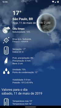 Tempo Previsão Clima XL Brasil imagem de tela 2