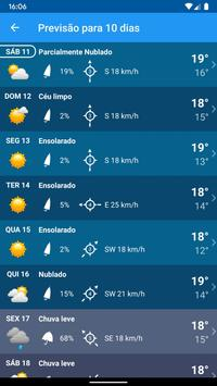 Tempo Previsão Clima XL Brasil imagem de tela 5