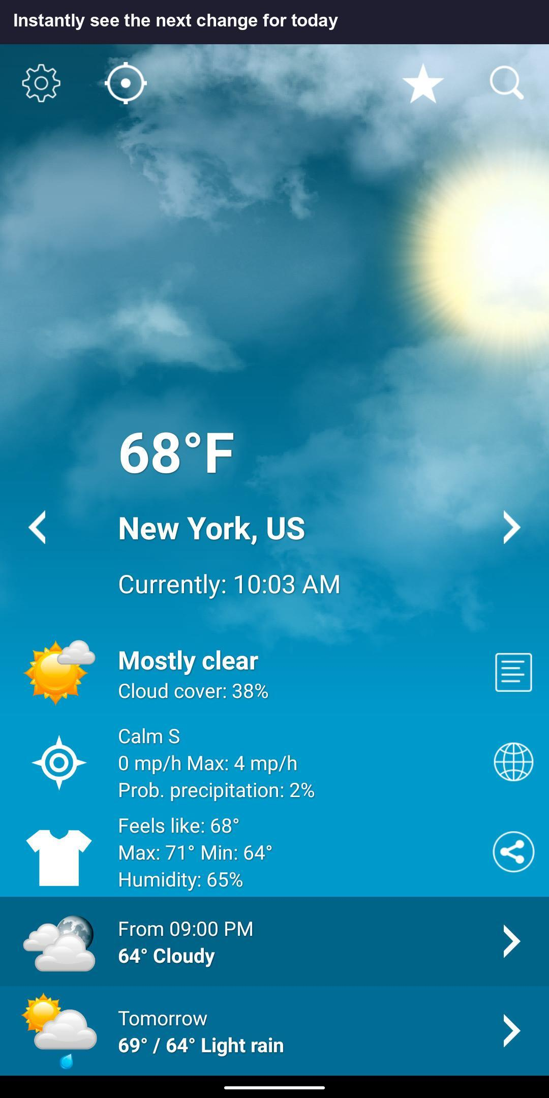 Weather XL for Android - APK Download