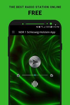 NDR 1 Schleswig-Holstein App poster