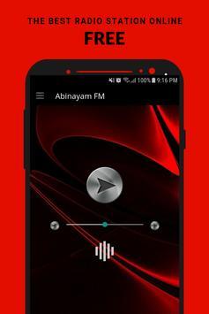 Abinayam FM poster