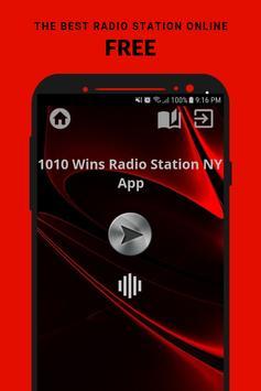 1010 Wins Radio Station NY App AM USA Free Online poster
