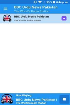 Urdu News Pakistan Radio App Player UK Free poster