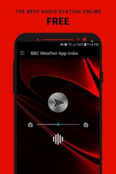 Weather App India Radio App Player Free Online poster