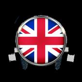Black Cat Radio 107 App FM UK Free Online icon
