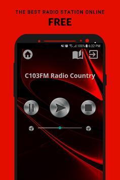 C103FM Radio Country App Ireland Free Online poster