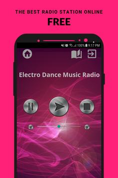 Electro Dance Music Radio App CH Free Online poster