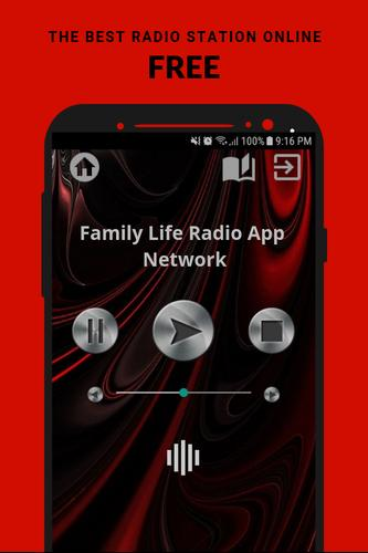 Family Life Radio App Network FM USA Free Online for Android