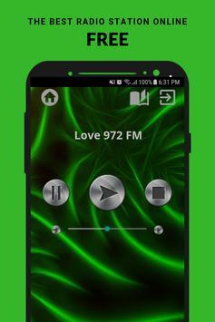 Love 972 FM Radio 97.2 App SG Free Online poster