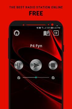P4 Fyn Radio DR App DK Free Online poster