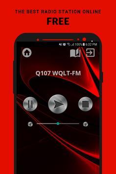 Q107 WQLT-FM Radio App USA Free Online poster