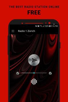Radio 1 Zürich poster